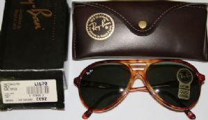 Ray Ban L1670 Traditional Style A Light Tortoiseshell Plastic G15 Brown Lens